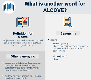 alcove, synonym alcove, another word for alcove, words like alcove, thesaurus alcove