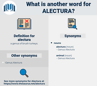 alectura, synonym alectura, another word for alectura, words like alectura, thesaurus alectura