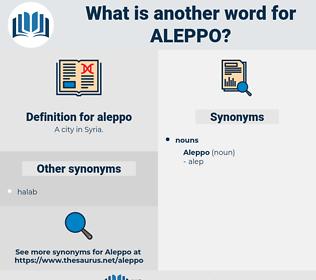 aleppo, synonym aleppo, another word for aleppo, words like aleppo, thesaurus aleppo