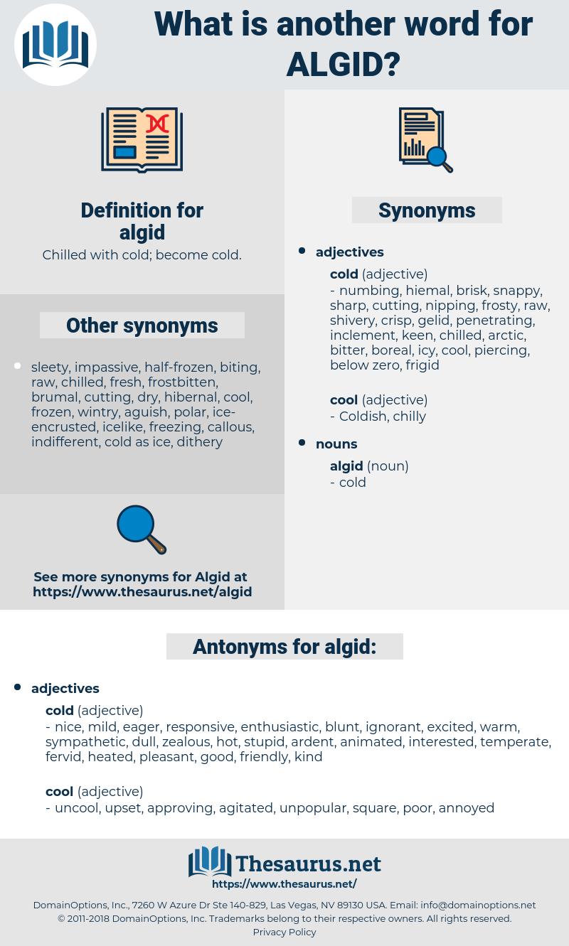 algid, synonym algid, another word for algid, words like algid, thesaurus algid
