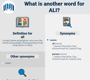 ali, synonym ali, another word for ali, words like ali, thesaurus ali