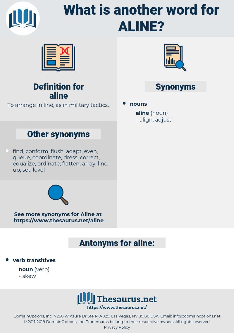 aline, synonym aline, another word for aline, words like aline, thesaurus aline