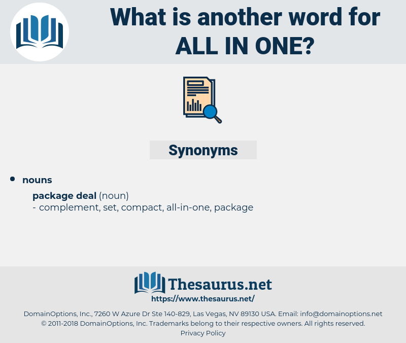 all-in-one, synonym all-in-one, another word for all-in-one, words like all-in-one, thesaurus all-in-one