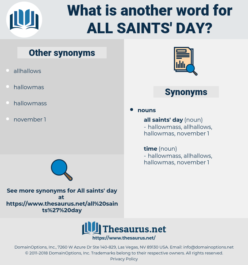 all saints day, synonym all saints day, another word for all saints day, words like all saints day, thesaurus all saints day