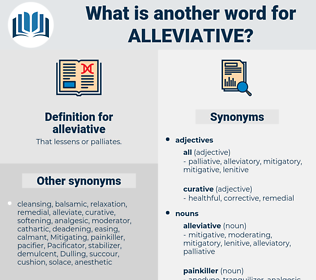 alleviative, synonym alleviative, another word for alleviative, words like alleviative, thesaurus alleviative