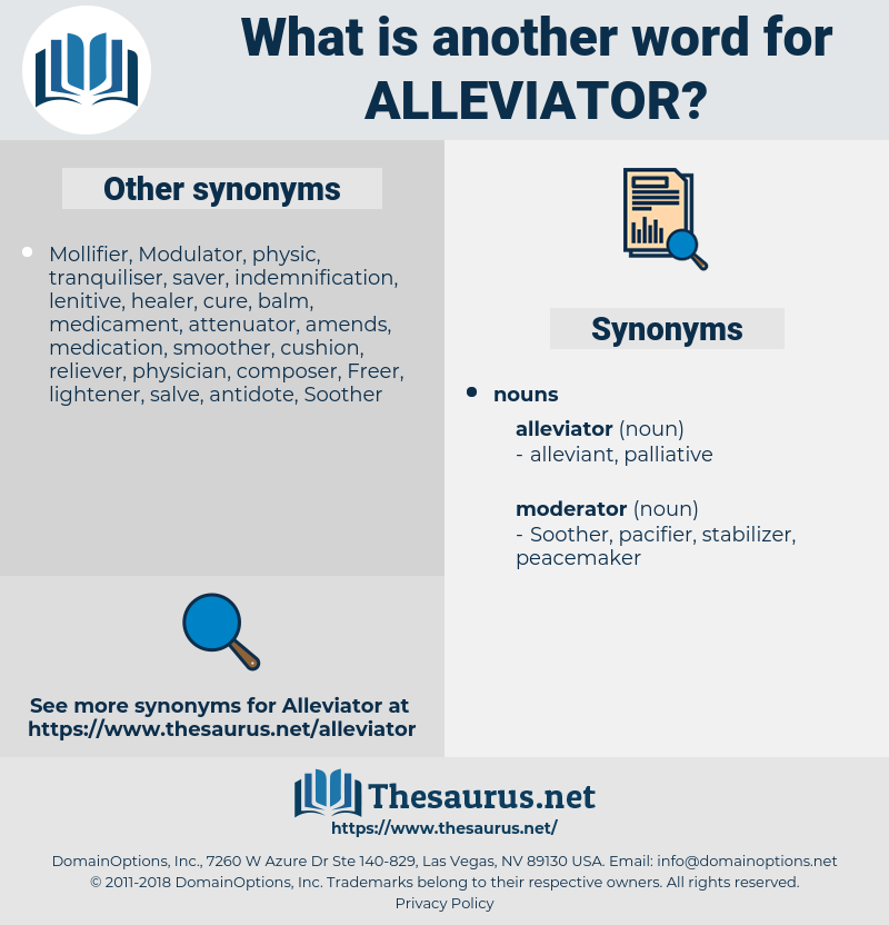 alleviator, synonym alleviator, another word for alleviator, words like alleviator, thesaurus alleviator