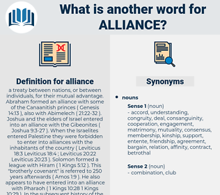 alliance, synonym alliance, another word for alliance, words like alliance, thesaurus alliance