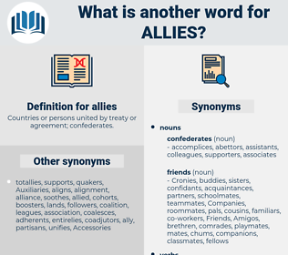 allies, synonym allies, another word for allies, words like allies, thesaurus allies