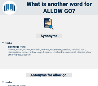 allow go, synonym allow go, another word for allow go, words like allow go, thesaurus allow go