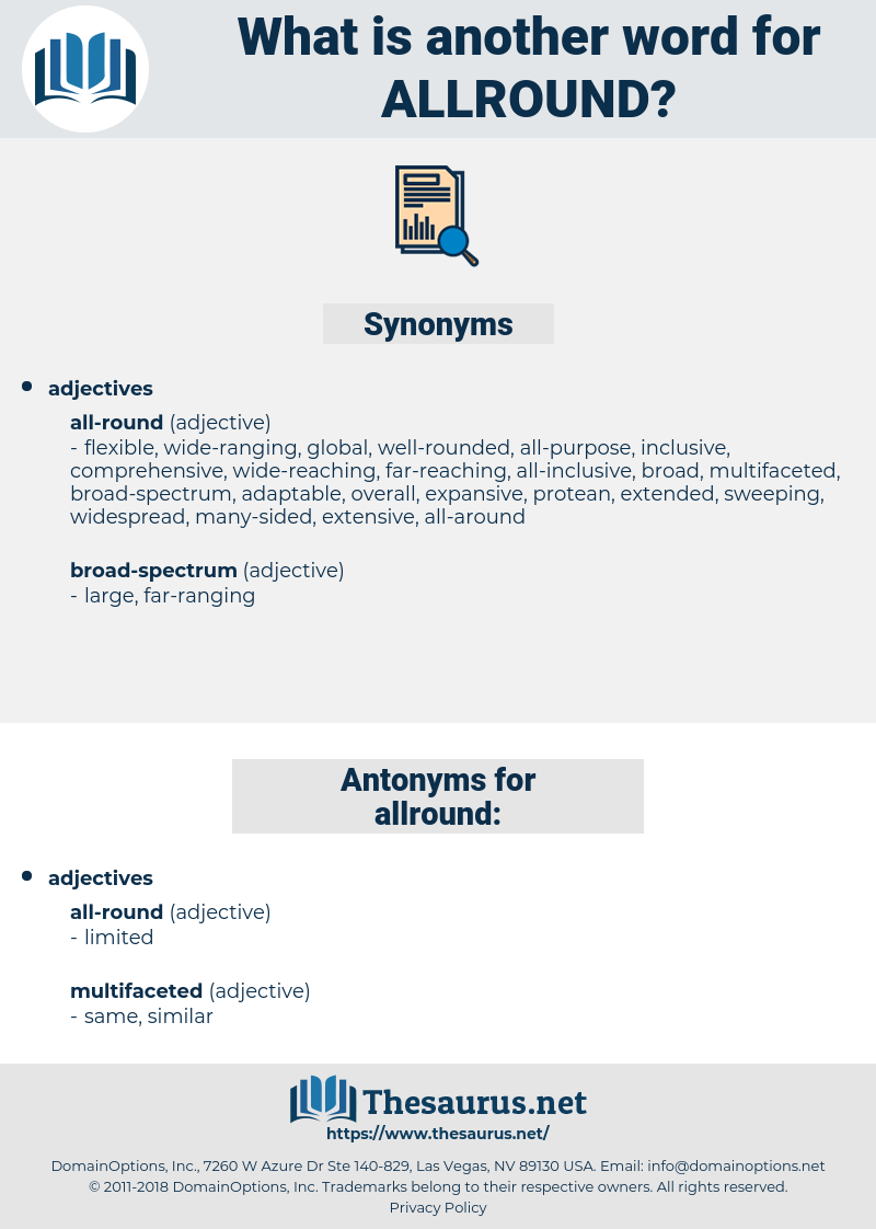 allround, synonym allround, another word for allround, words like allround, thesaurus allround