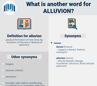 alluvion, synonym alluvion, another word for alluvion, words like alluvion, thesaurus alluvion