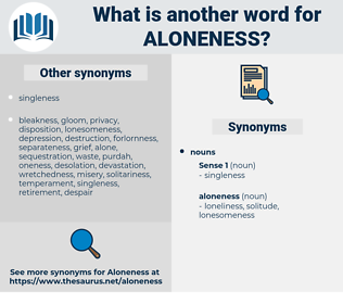 aloneness, synonym aloneness, another word for aloneness, words like aloneness, thesaurus aloneness