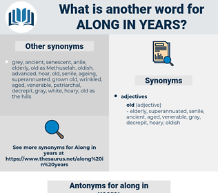 along in years, synonym along in years, another word for along in years, words like along in years, thesaurus along in years