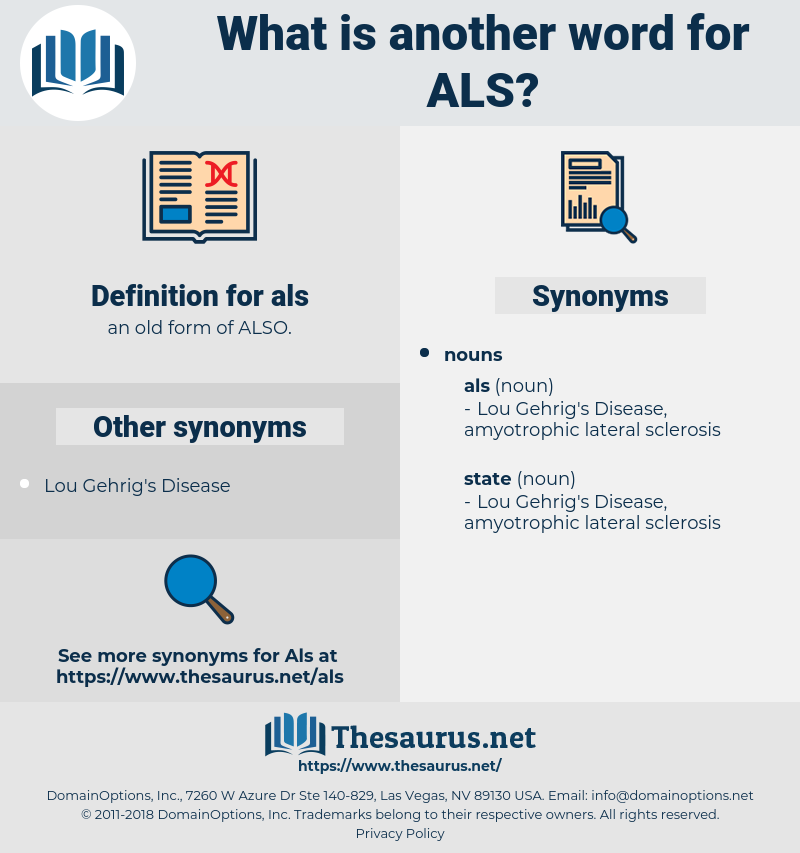 als, synonym als, another word for als, words like als, thesaurus als