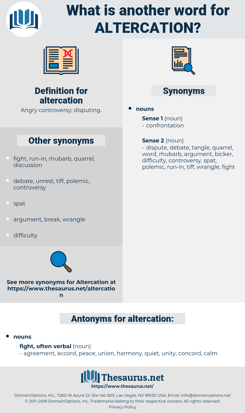 altercation, synonym altercation, another word for altercation, words like altercation, thesaurus altercation