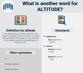 altitude, synonym altitude, another word for altitude, words like altitude, thesaurus altitude