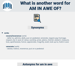 am in awe of, synonym am in awe of, another word for am in awe of, words like am in awe of, thesaurus am in awe of