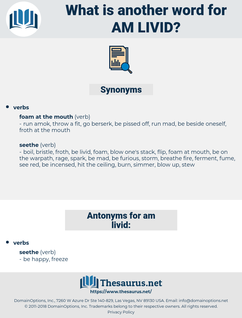 am livid, synonym am livid, another word for am livid, words like am livid, thesaurus am livid