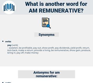 am remunerative, synonym am remunerative, another word for am remunerative, words like am remunerative, thesaurus am remunerative