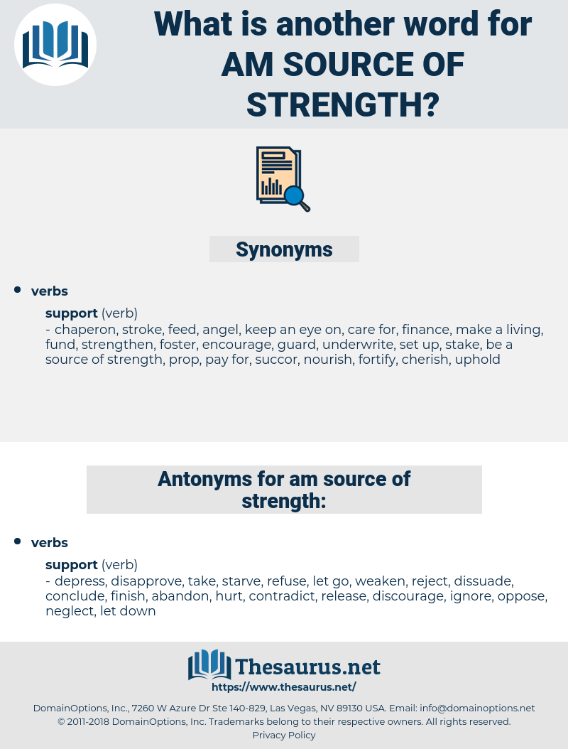 am source of strength, synonym am source of strength, another word for am source of strength, words like am source of strength, thesaurus am source of strength