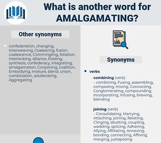 Amalgamating, synonym Amalgamating, another word for Amalgamating, words like Amalgamating, thesaurus Amalgamating