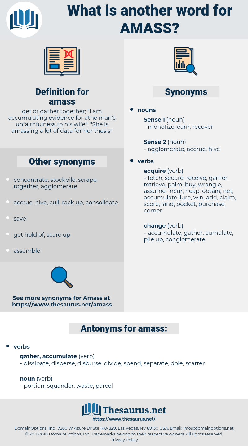 amass, synonym amass, another word for amass, words like amass, thesaurus amass