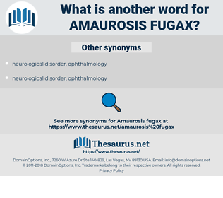 Amaurosis Fugax, synonym Amaurosis Fugax, another word for Amaurosis Fugax, words like Amaurosis Fugax, thesaurus Amaurosis Fugax