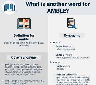 amble, synonym amble, another word for amble, words like amble, thesaurus amble