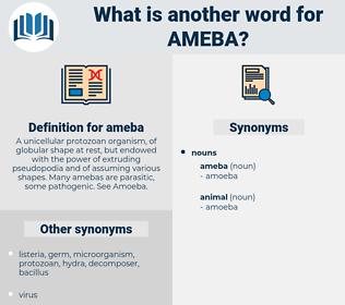 ameba, synonym ameba, another word for ameba, words like ameba, thesaurus ameba