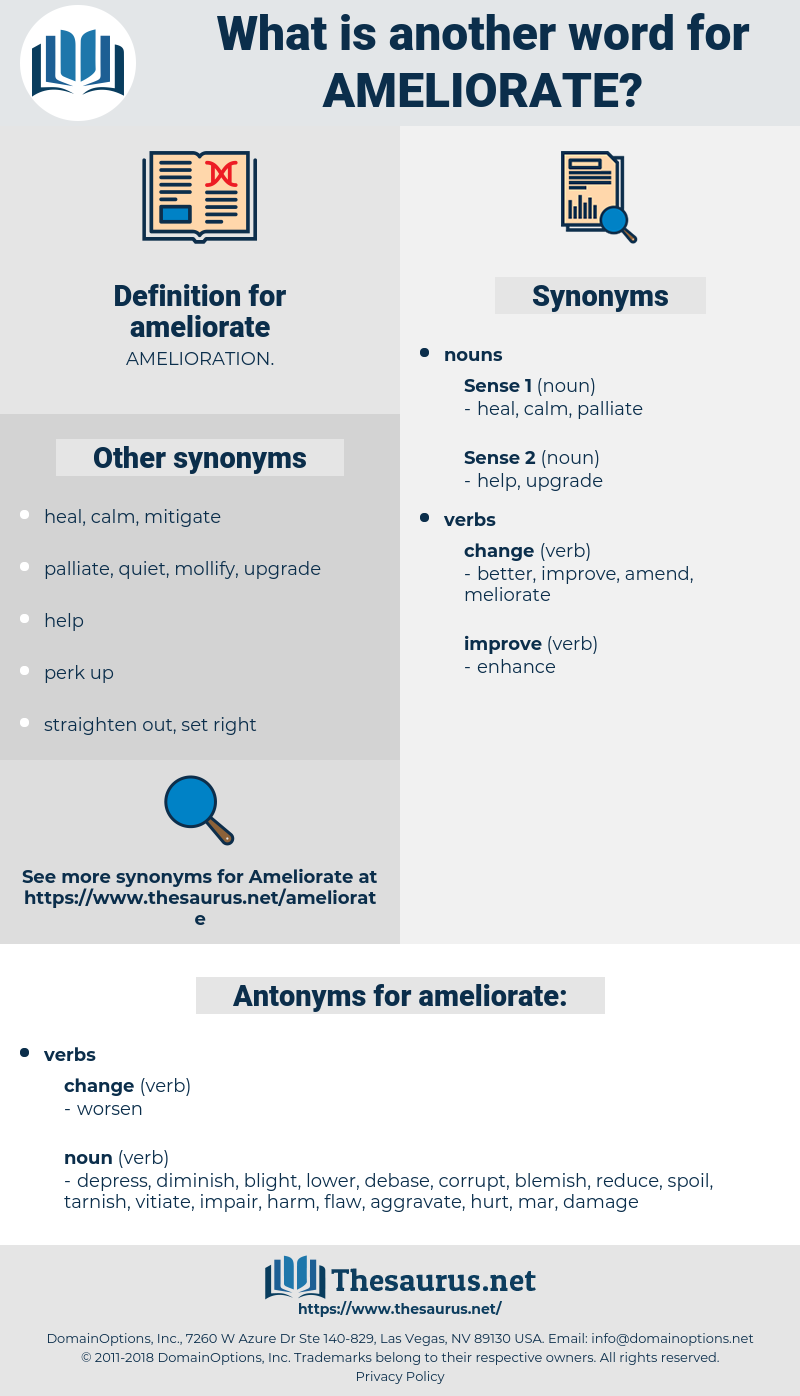 ameliorate, synonym ameliorate, another word for ameliorate, words like ameliorate, thesaurus ameliorate