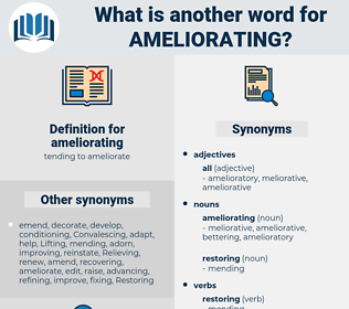 ameliorating, synonym ameliorating, another word for ameliorating, words like ameliorating, thesaurus ameliorating