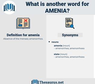 amenia, synonym amenia, another word for amenia, words like amenia, thesaurus amenia