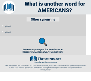 Americans, synonym Americans, another word for Americans, words like Americans, thesaurus Americans