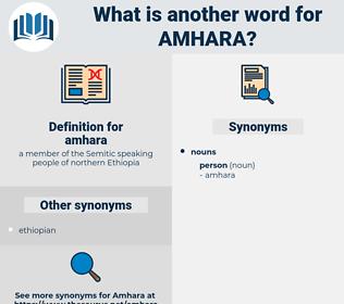 amhara, synonym amhara, another word for amhara, words like amhara, thesaurus amhara