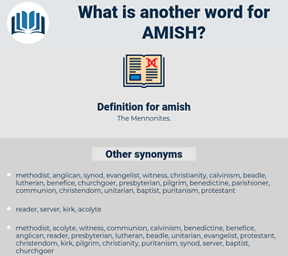 amish, synonym amish, another word for amish, words like amish, thesaurus amish