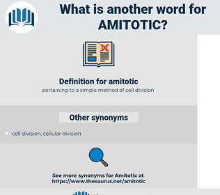 amitotic, synonym amitotic, another word for amitotic, words like amitotic, thesaurus amitotic