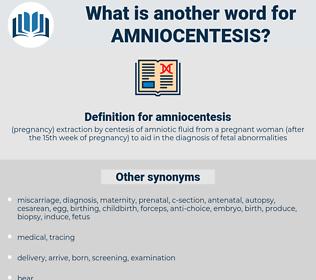 Amniocentesis pronunciation