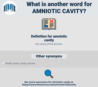 amniotic cavity, synonym amniotic cavity, another word for amniotic cavity, words like amniotic cavity, thesaurus amniotic cavity