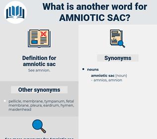 amniotic sac, synonym amniotic sac, another word for amniotic sac, words like amniotic sac, thesaurus amniotic sac