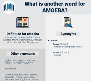 amoeba, synonym amoeba, another word for amoeba, words like amoeba, thesaurus amoeba