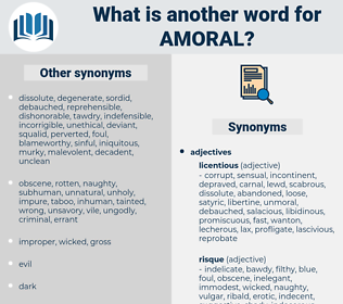 amoral, synonym amoral, another word for amoral, words like amoral, thesaurus amoral