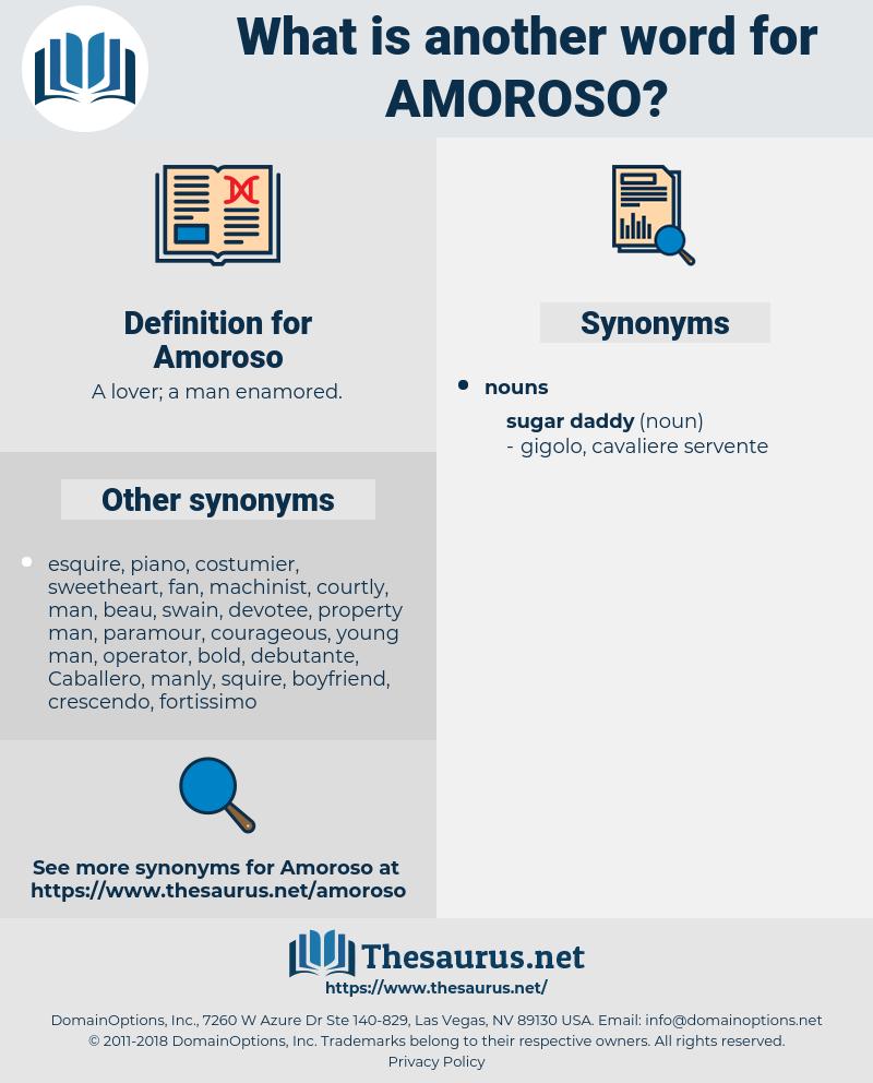 Amoroso, synonym Amoroso, another word for Amoroso, words like Amoroso, thesaurus Amoroso