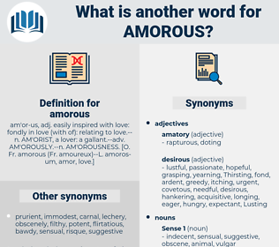 amorous, synonym amorous, another word for amorous, words like amorous, thesaurus amorous