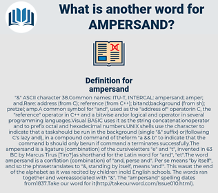 ampersand, synonym ampersand, another word for ampersand, words like ampersand, thesaurus ampersand