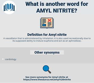 Amyl nitrite, synonym Amyl nitrite, another word for Amyl nitrite, words like Amyl nitrite, thesaurus Amyl nitrite