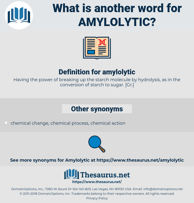 amylolytic, synonym amylolytic, another word for amylolytic, words like amylolytic, thesaurus amylolytic