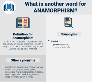 anamorphism, synonym anamorphism, another word for anamorphism, words like anamorphism, thesaurus anamorphism