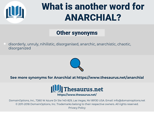 anarchial, synonym anarchial, another word for anarchial, words like anarchial, thesaurus anarchial