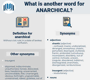 anarchical, synonym anarchical, another word for anarchical, words like anarchical, thesaurus anarchical