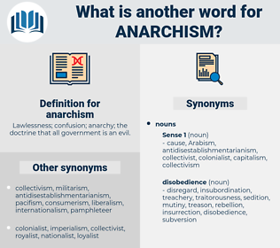 anarchism, synonym anarchism, another word for anarchism, words like anarchism, thesaurus anarchism